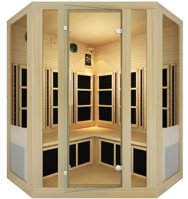 Tosi™ Corner Full Spectrum Infrared Sauna