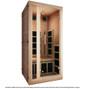 Tosi Red™ 1 Person Full Spectrum Infrared Sauna (Red Cedar)