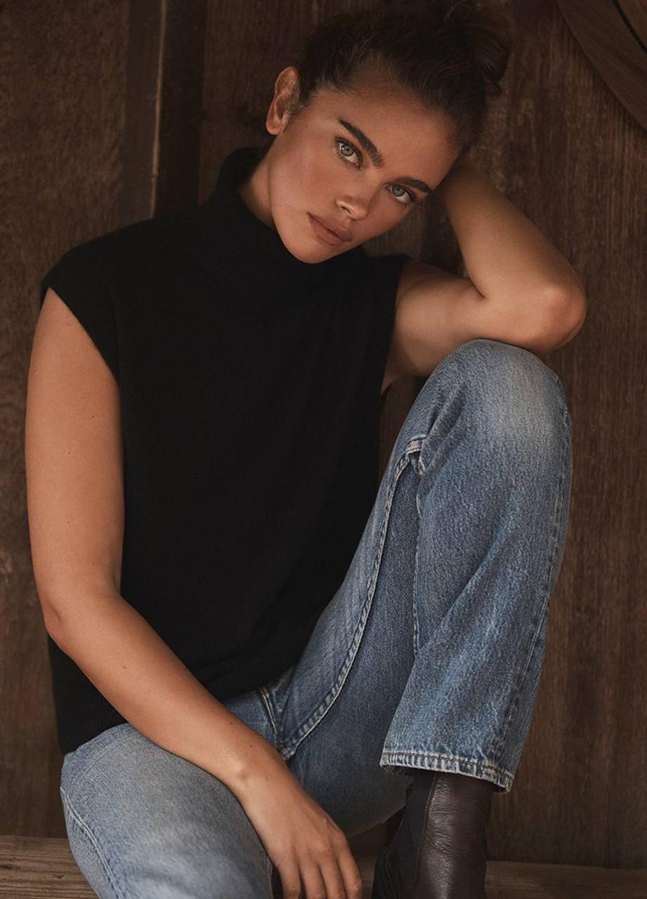 Gloria Sleeveless Cashmere Sweater