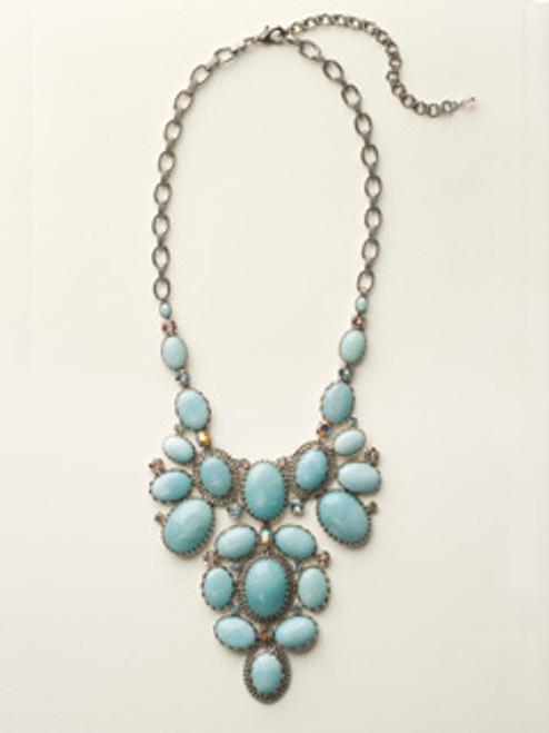SKY BLUE PEACH NECKLACE BY SORRELLI