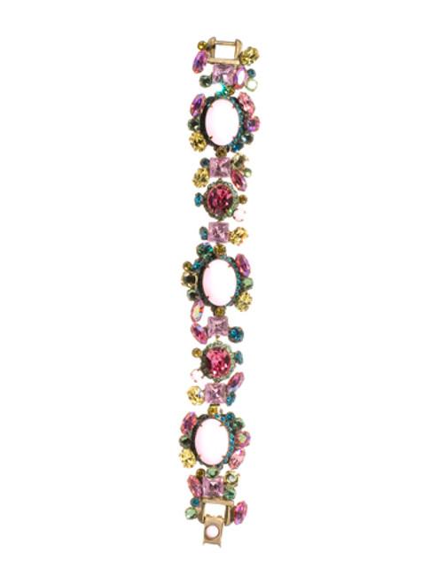 Sorrelli Happy Birthday Swarovski Crystal Bracelet BBN7AGHB