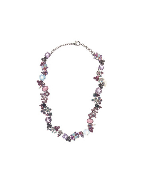 Sorrelli Misty Pink Crystal Necklace NBB3ASMP