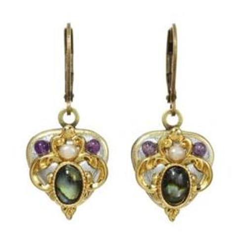 Vintage Violet EARRINGS