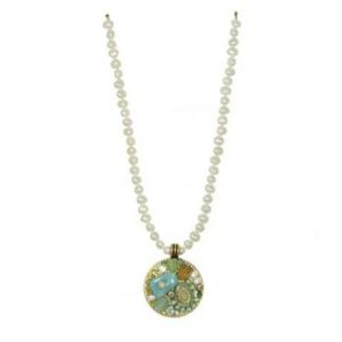MICHAL GOLAN BLUE LAGOON CRYSTAL NECKLACE N2213