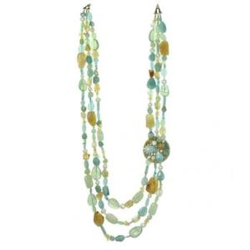 MICHAL GOLAN BLUE LAGOON CRYSTAL NECKLACE