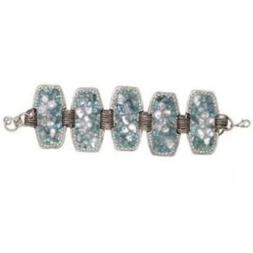 Michal Golan Aqua Marine Bracelet