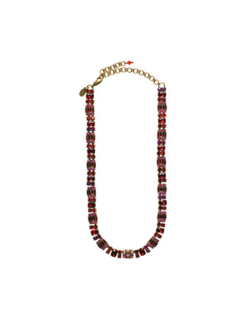 **SPECIAL ORDER** SORRELLI CRANBERRY SWAROVSKI CRYSTAL NECKLACE NBZ44AGCB