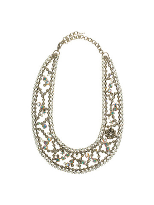 Sorrelli White Bridal Necklace NCN6ASWBR