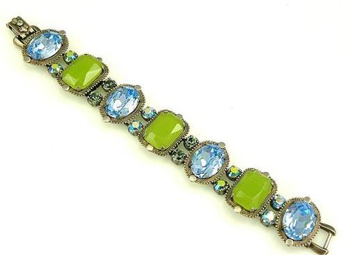 Sorrelli Ocean Swarovski Crystal Bracelet BCB37ASOC