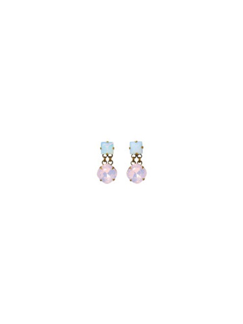 SORRELLI- PRETTY IN PINK BOLD DROP DANGLE EARRINGS- EBP3AGPNP