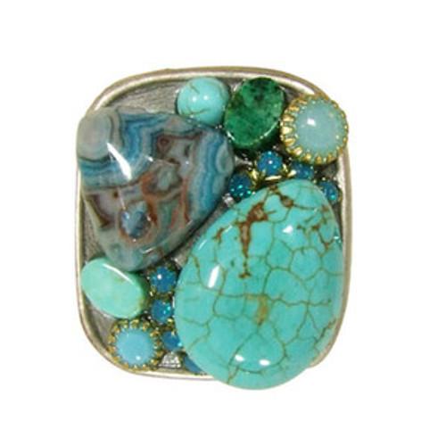 Sea Green Michal Golan Ring