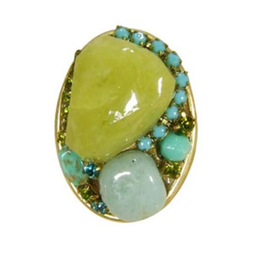 Light green Michal Golan Ring