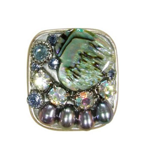 Dark green Michal Golan Ring