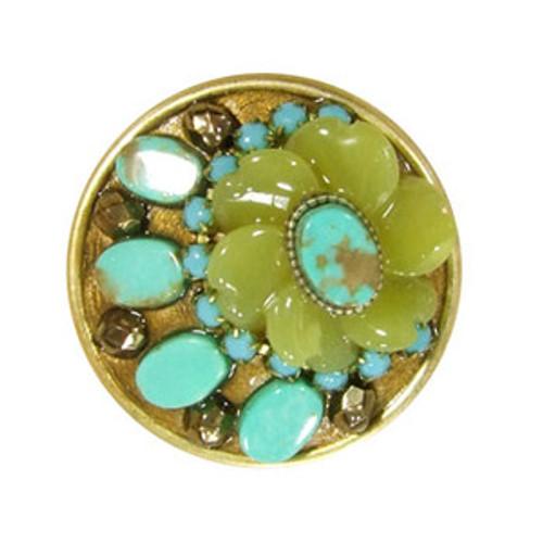 Green Michal Golan Ring