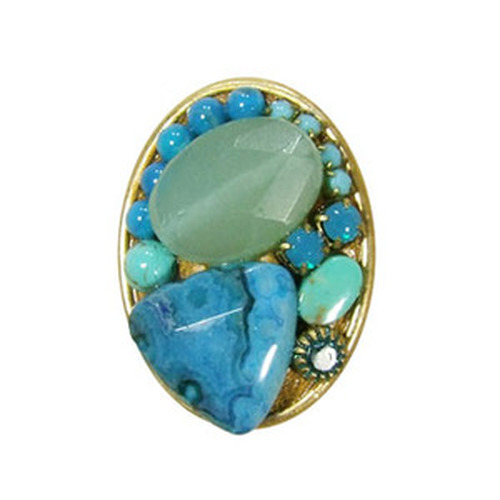Blue Michal golajn Ring