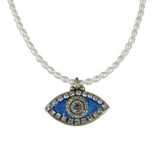 Michal Golan Blue Eye Necklace