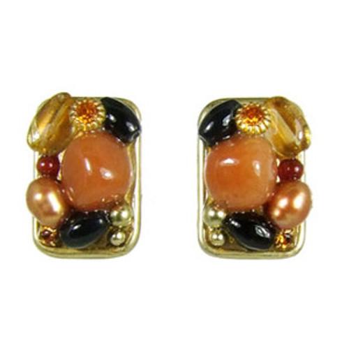 Golan Red Rock Earrings