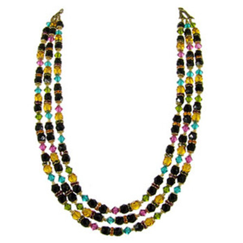 Michal Golan Midnight Blossom Necklace n2185