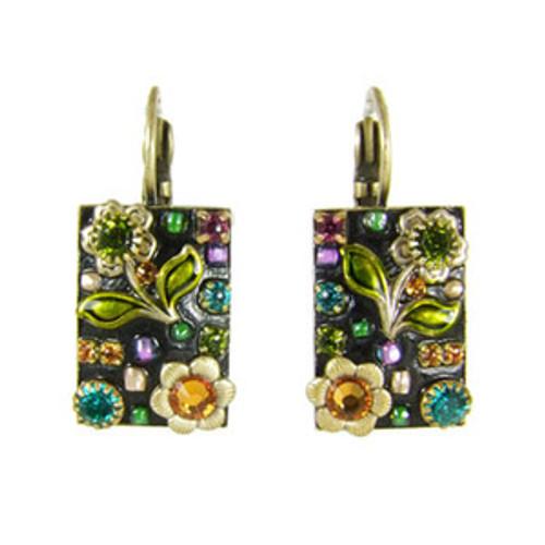 Michal Golan Midnight Blossom Earrings S5838
