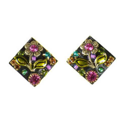 Michal Golan Midnight Blossom Earrings S5837