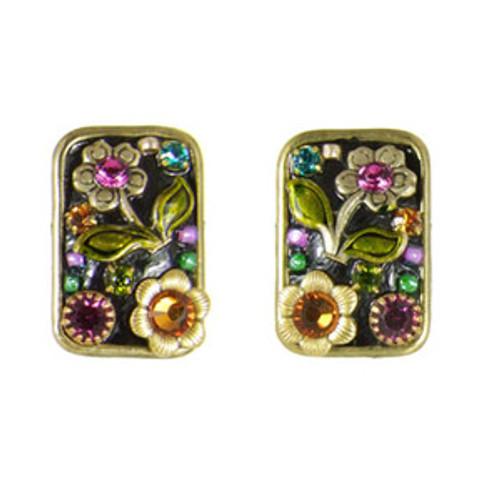 michal golan midnight blossom earrings s5578