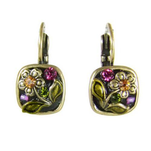 michal golan midnight blossom earrings s5576
