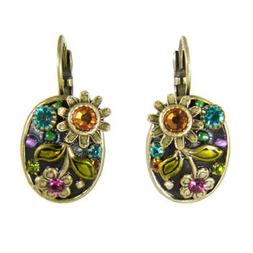 michal golan midnight blossom earrings s5575