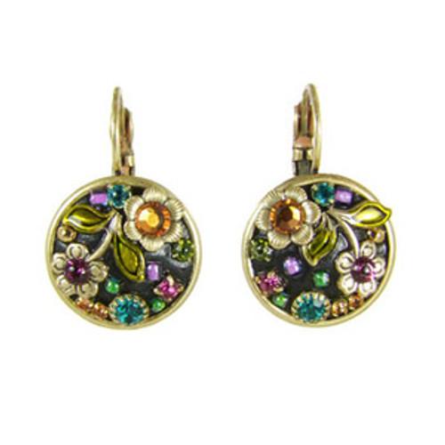 Michal Golan Midnight Blossom Earrings