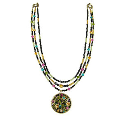 Michal Golan Midnight Blossom Necklace n2117