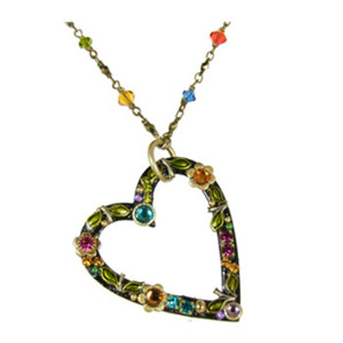 Michal Golan Midnight Blossom Necklace N2102