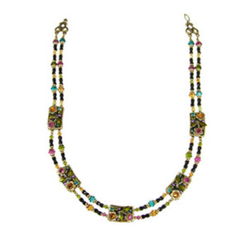 Michal Golan Midnight Blossom Necklace necklace