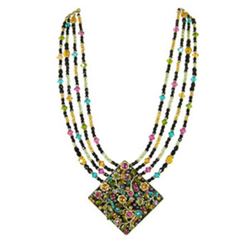 Michal Golan Midnight Blossom Necklace ebt37agaqb