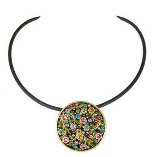 Michal Golan Midnight Blossom Necklace