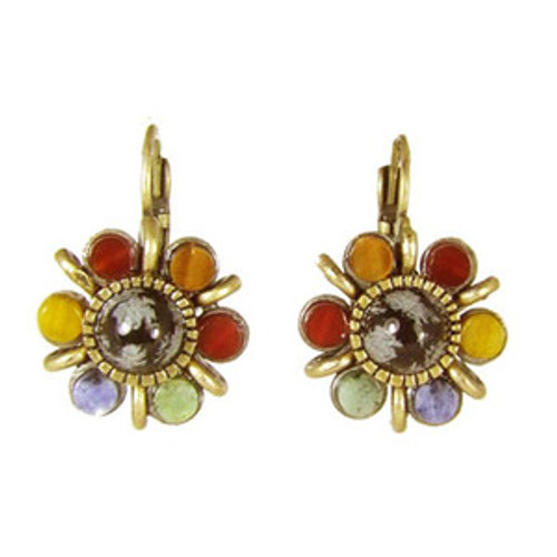 Michal Golan Earthly Flower Earrings S7156