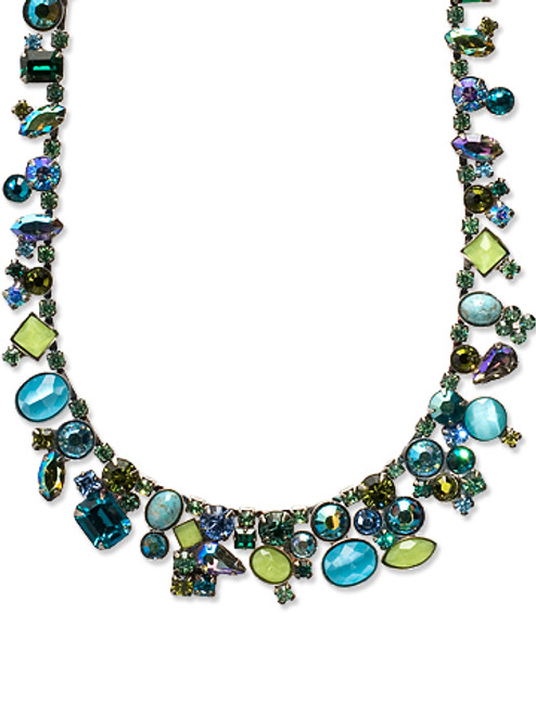 SORRELLI OCEAN CRYSTAL NECKLACE NAX8ASOC
