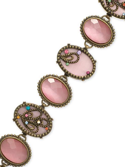 Sorrelli Lollipop Crystal Bracelet BCA6AGLP