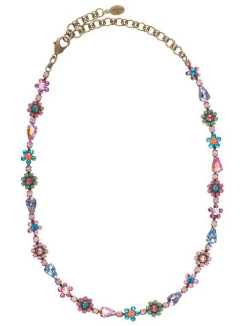Sorrelli Lollipop Crystal Necklace nbp90aglp