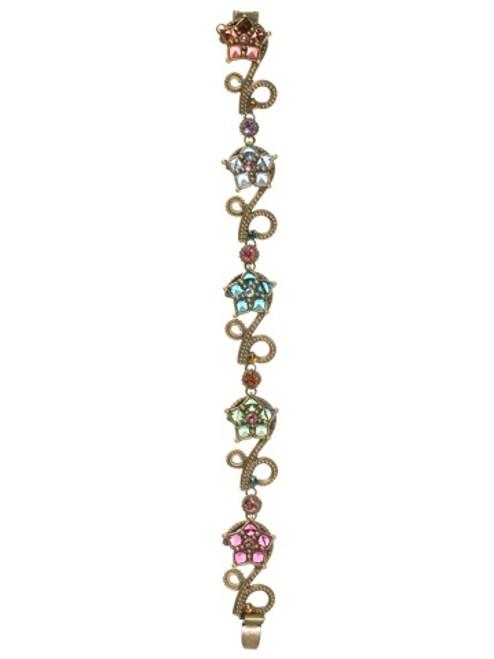 Sorrelli Lollipop Crystal Bracelet BCA7AGLP