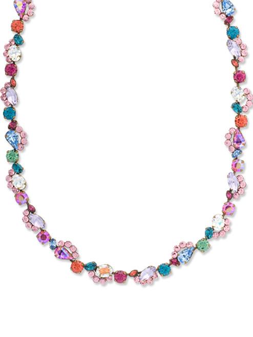 Sorrelli Lollipop Crystal Necklace NBZ31AGLP