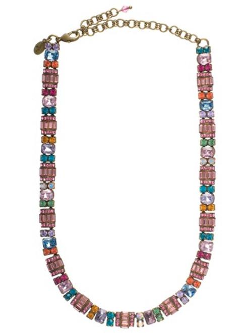 Sorrelli Lollipop Crystal Necklace NBZ44AGLP