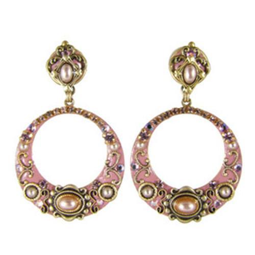Michal Golan Pretty In Pink Earrings