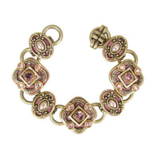 Michal Golan Pretty In Pink Bracelet