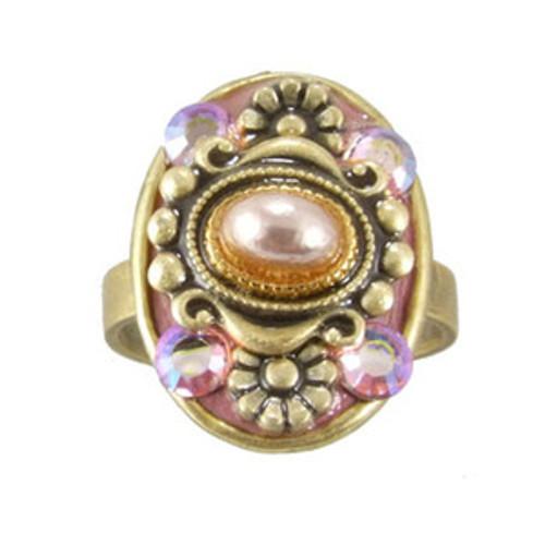Michal Golan Pretty In Pink Ring