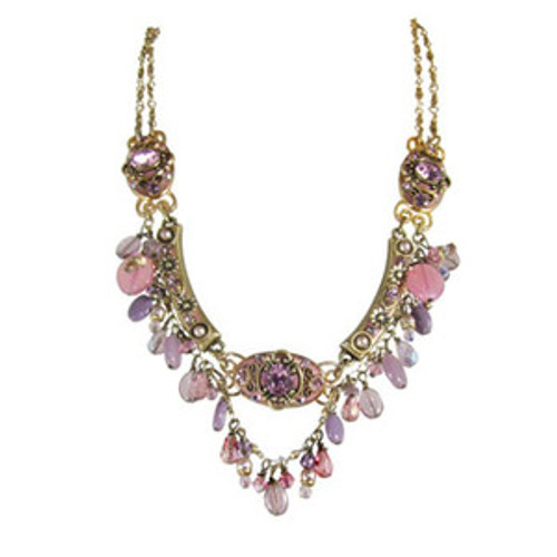 michal golan pretty in pink necklace n1999
