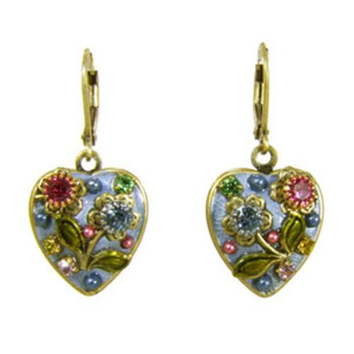 Michal Golan Heart Earrings s6295