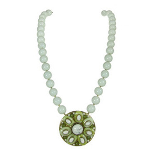 Michal Golan Key Lime Pendant N2009