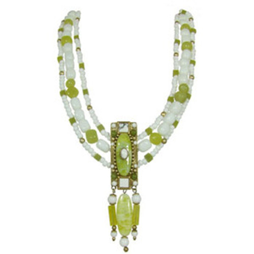 Michal Golan Key Lime Necklace