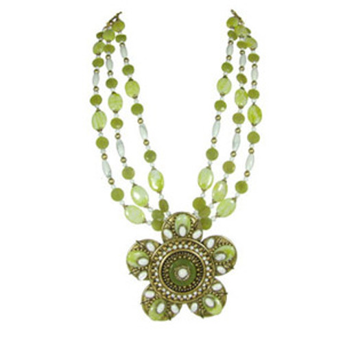 Michal Golan Key Lime Pendant