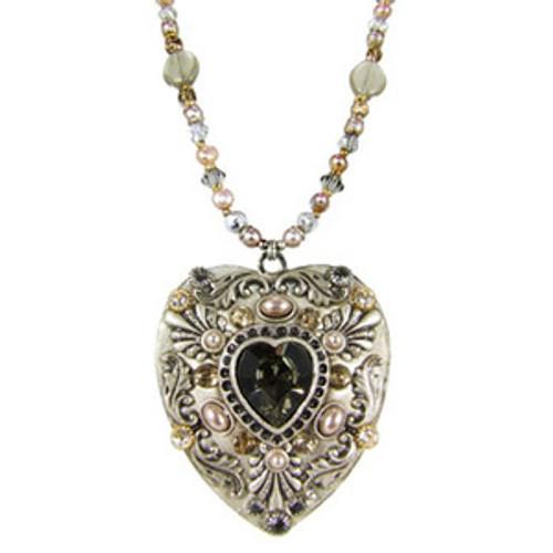 Michal Golan Heart Pendant- N1439