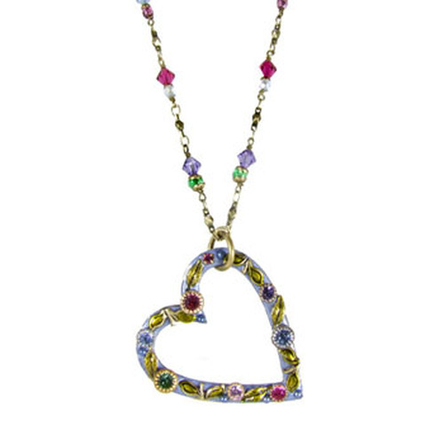 Michal Golan Heart Pendant- n1353
